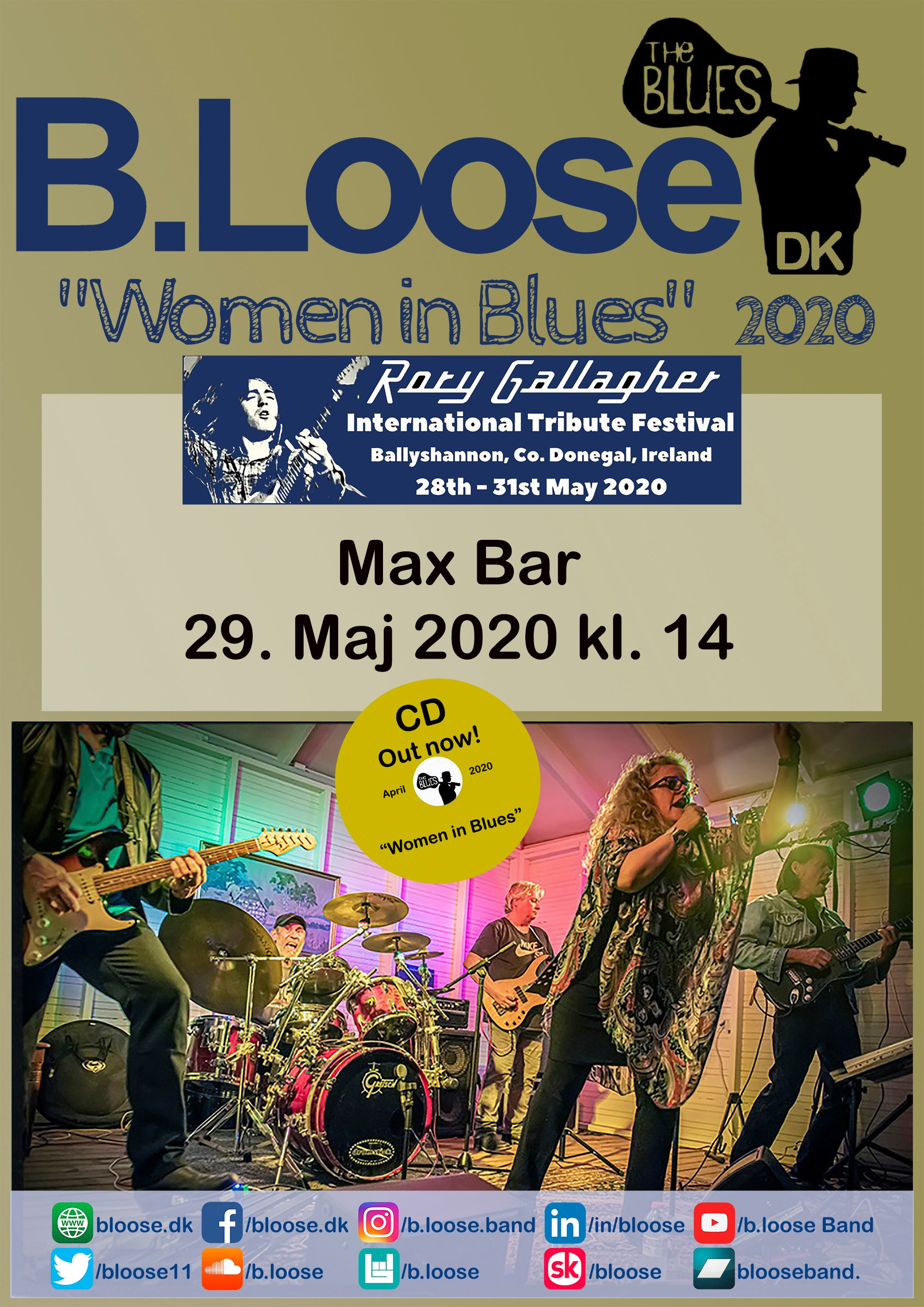 2020.5.29 Max Bar - Rory Gallagher Festival - CD