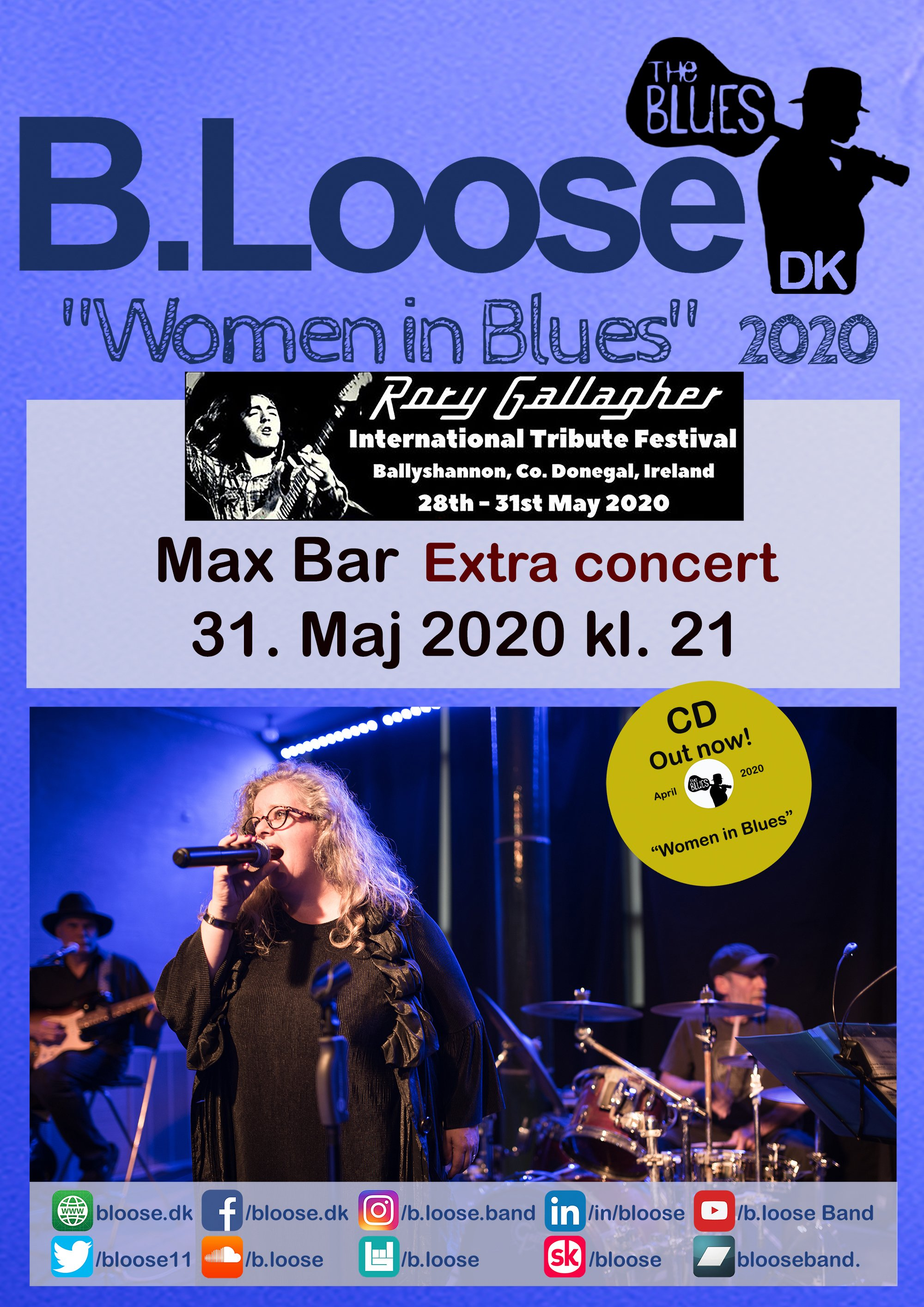 2020.5.31 Max Bar - Rory Gallagher Festival - CD
